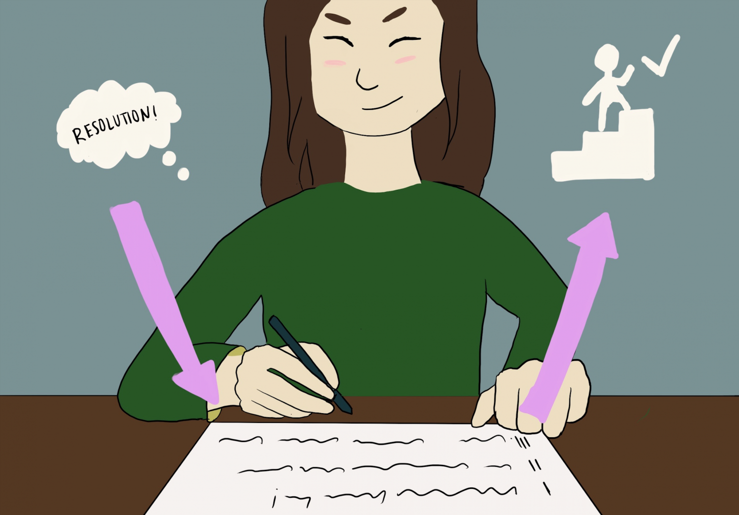 Writing down and creating a plan for your resolutions makes it 42% more likely that you will accomplish them, according to Forbes Coaches Council.