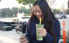 "As Truong looks over her account, she recalls some of her favorite memories. ""My most proud achievement was when Ding Tea reposted my photo; I was very happy,"" Truong said."