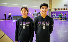 Ethan and Carissa Qureshi competed at a USA Wrestling Tournament at Laguna Hills High on Oct. 5, 2019. The sibling duo, who had been training frequently after school, both placed first in their respective divisions.