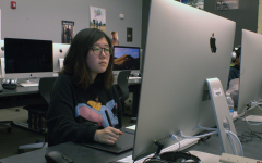 Senior Julia Lee says she enjoys computer graphics more than fine arts due to how digital platforms are easier to edit errors compared to other mediums. Although Lee was first concerned that she was not familiar with digital platforms, she was able to catch on quickly through many hours of additional practice at home.