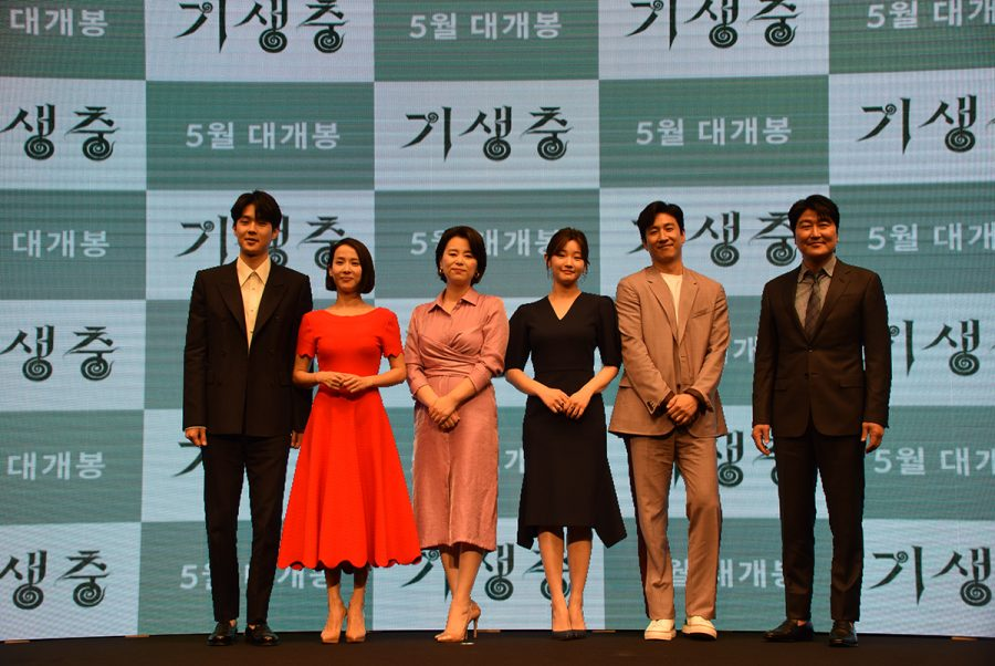 The+cast+of+%E2%80%9CParasite%2C%E2%80%9D+including+Song+Kang-ho%2C+Choi+Woo-shik+and+others+walked+the+red+carpets+at+film+festivals+around+the+world+but+remarked+that+the+Academy+Awards+was+one+of+their+most+significant+and+memorable+experiences.++