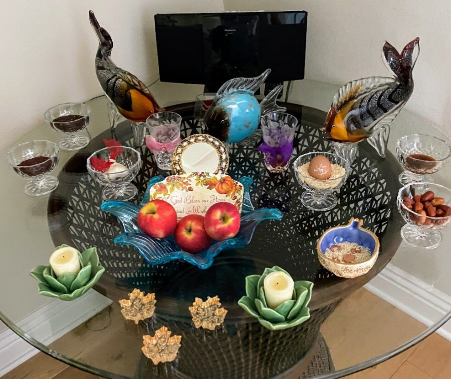 The Haft-seen is an integral part of Nowruz. Each of the seven objects on the table signifies some idea or value that are important to the Persian culture, such as prosperity, beauty and patience.