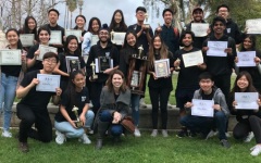 Notable individual awards include seniors Simrat Singh for first place in Sports Writing, Farhad Taraporevala for third in Critical Review, Shawyan Rooein for third in Newspaper Layout, Ki Joon Lee for fourth place in Sports Writing, Ajinkya Rane for sixth place in Editorial Writing, Maya Sabbaghian for ninth place in Editorial Writing and Tiffany Wu for seventh place in Feature Writing.