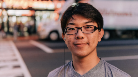 Senior Matthew Kwon presented Integral, an app he helped develop, at Washington, D.C. after winning the Congressional App Challenge last year.
