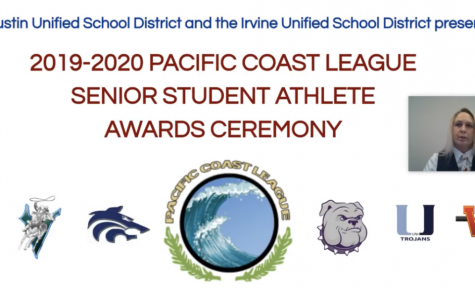 "Although this year's ceremony was held on a virtual platform, the celebrations of these athletes remained strong. Principal John Pehrson said, ""in no way [the process] diminishes our admiration or gratitude for all you do and what you stand for."""