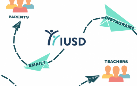 IUSD communicates with parents, teachers and staff primarily through Instagram posts and emails.