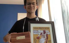 """Senior Rishav Sen rescued two of his most treasured possessions: his late dog's ashes and a signed photo of Kobe Bryant. Sen remarked that as he left his house, """"I brought most of the things I needed, but I almost forgot shoes."""""""