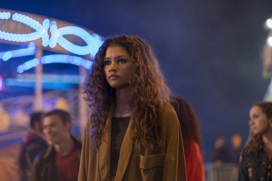"Zendaya Coleman makes history with her Emmy Award for her role as Rue Bennett in HBO drama series ""Euphoria,"