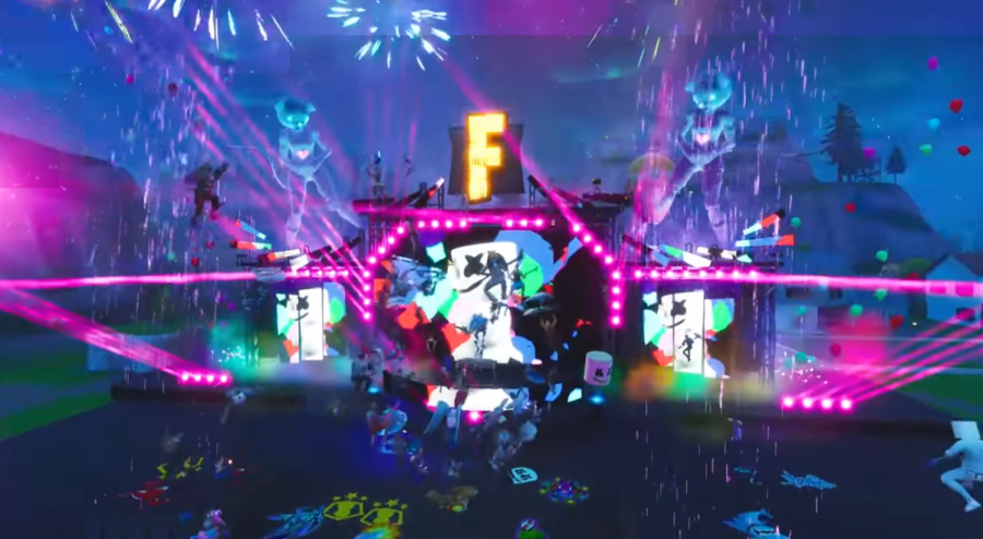 """On April 25, Travis Scott held a virtual concert in the popular video game """"Fortnite,"""" which over 12 million people attended from all over the world, according to Rolling Stone."""
