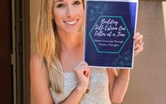 "Jeralyn Newton introduces her hand lettering book ""Building Self-Esteem One Letter at a Time."" The book contains a series of positive affirmations to direct its audience to a self-positive and uplifting attitude."