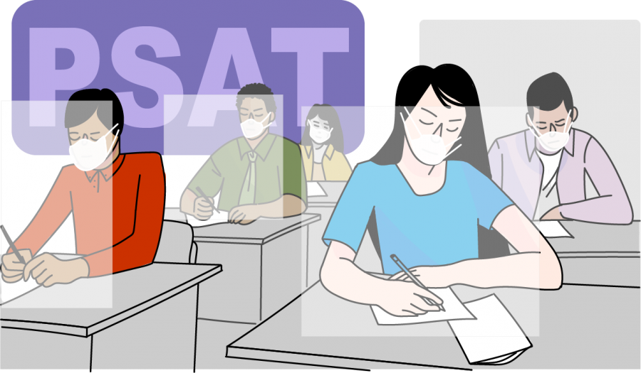 While the PSAT may appear less essential to college admissions, the NMSQT is an opportunity for students to get a head start in applying for scholarships if they score high enough within a certain percentage of Portola High school.