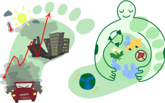 Over the last few centuries, industrialization and population growth have resulted in increased carbon emissions, thus increasing global temperatures. Individuals can reduce their carbon footprint and improve the Earth's environmental condition by adopting an eco-friendly lifestyle, which may include using sustainable alternatives, buying less, eating less meat and recycling more.
