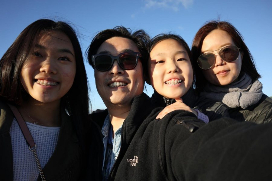 Senior+Angela+Kim+and+freshman+Rachel+Kim%E2%80%99s+father+normally+lives+in+Korea%2C+but+he+always+makes+the+visit+back+home+for+Christmas.