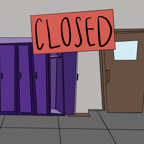 Due to Covid-19 safety guidelines, Portola locker rooms remain closed until case numbers fall. The closure has caused concerns for some students, while others do not mind.