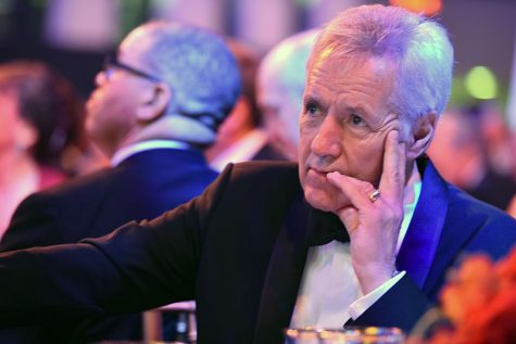 "Over his ""Jeopardy!"" career, Alex Trebek hosted more than 8,000 episodes, setting the record for most shows hosted, and won seven Emmy awards as well as a Lifetime Achievement Award from the National Academy of Television Arts and Sciences, according to Jeopardy.com."
