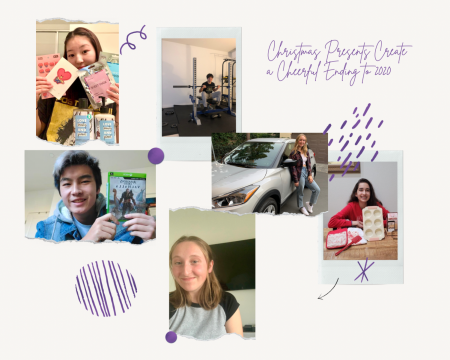 Six students share what they received from friends and family for the 2020 holiday season. Even with the stress of the pandemic and final exams, these presents added joy and relaxation to the students' lives.