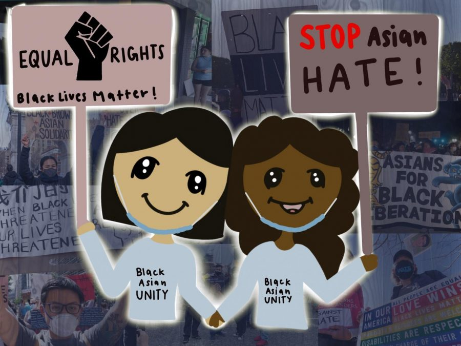 Whether+it+is+Black+Lives+Matter+or+Stop+Asian+Hate%2C+both+minorities+are+fighting+for+the+same+thing%3A+freedom+and+equality.+Rather+than+pointing+the+blame+at+other+minorities+for+racism%2C+Asian+Americans+and+Black+Americans+need+to+protest+together+in+order+to+dismantle+systems+that+suppress+them.+