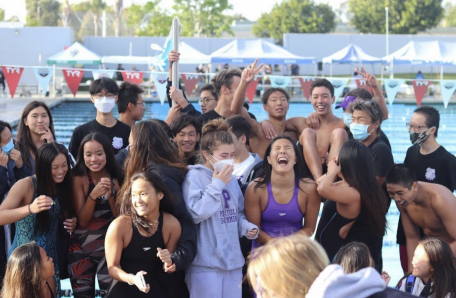 Swim finishes PCL with a third place win for the girls and a second place win for the boys. Numerous times were dropped with many athletes in the top five.