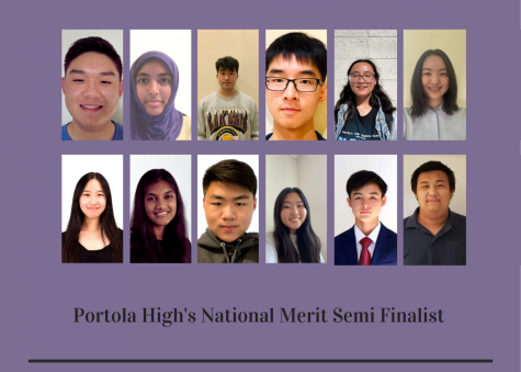 Thirteen seniors from Portola High were among the 2,100 students who qualified as semifinalists in California by meeting the cutoff score of 221. The number of semifinalists in a state is proportional to the state's percentage of the national total of graduating seniors, causing cutoff scores to differ by state. All students who meet the cutoff score for their state automatically qualify as semifinalists, regardless of their score relative to others.